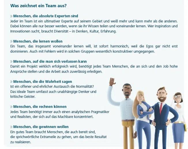 Was zeichnet ein Team aus?