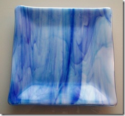 Fused Glass Trays,Plates and a Bowl (4/6)