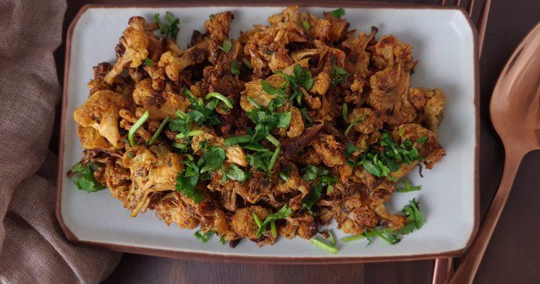 Tandoori Cauliflower Bhurji (Scramble)