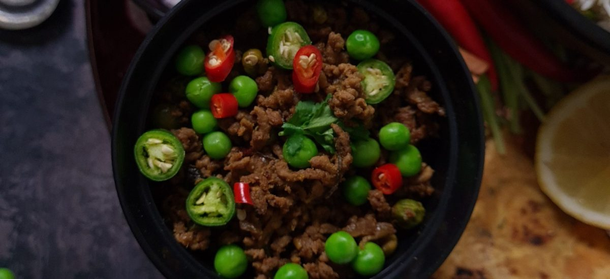 Keema Matar (Lamb Mince with Peas)