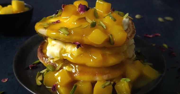 Mango & Pistachio Dorayaki Pancakes