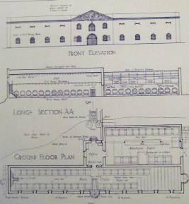 Groot Constantia Cloete Cellar Floor Plans