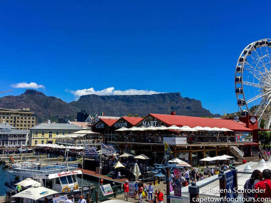 Table Mountain from V&A Waterfront