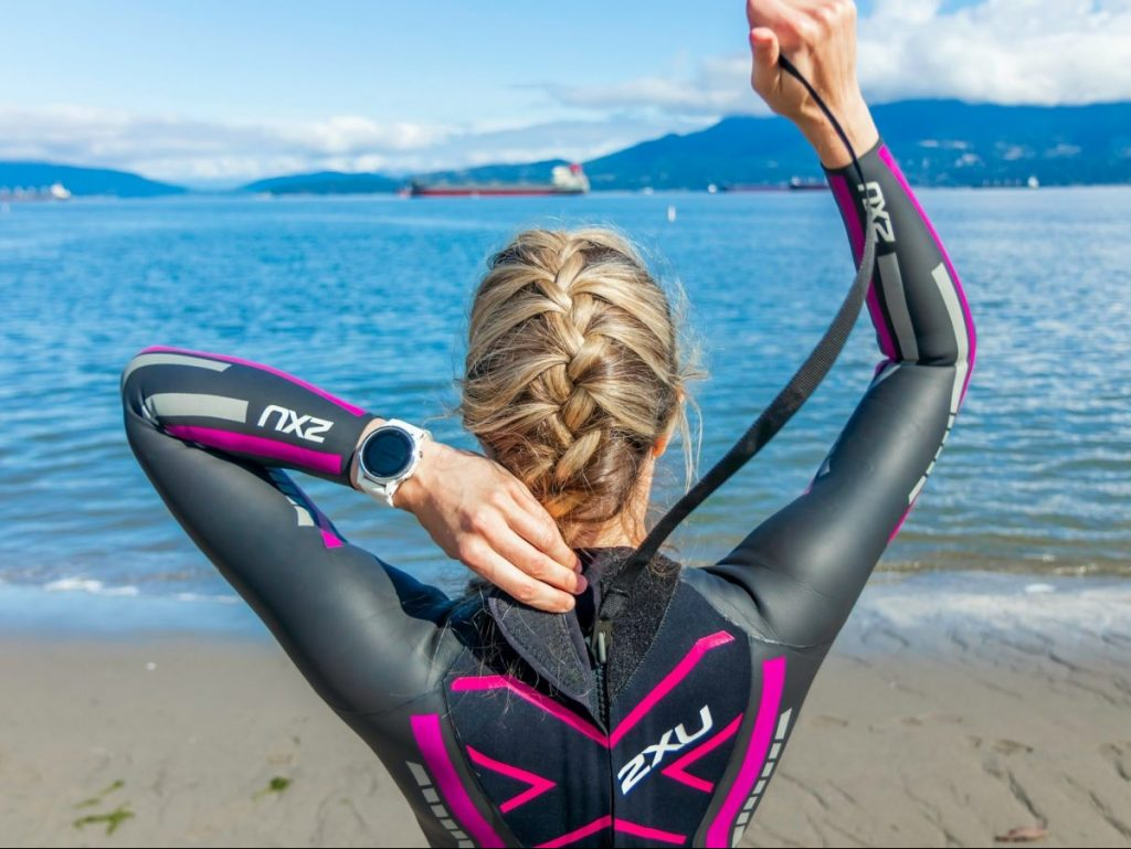 open water mile swim training