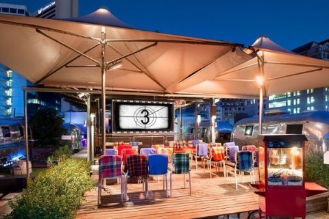 Grand Daddy Rooftop Cinema (Image: Supplied)