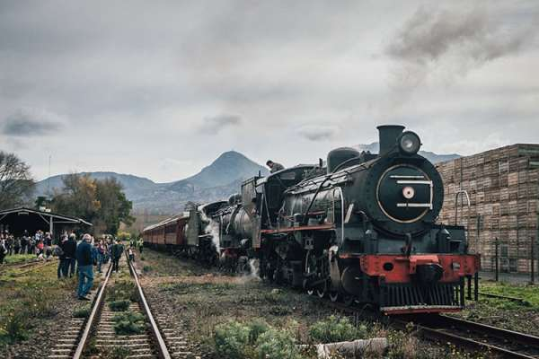 Steam train to Elgin (Image: Supplied)