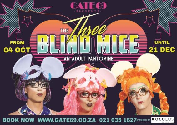 Three Blind Mice at Gate69 (Image: Supplied)
