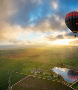 Hot Air Ballooning in the Western Cape (Image: Supplied)