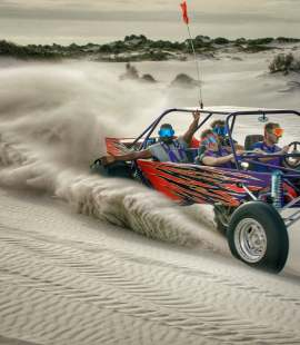 Dune Thrasher Sandblasting (Image: Supplied