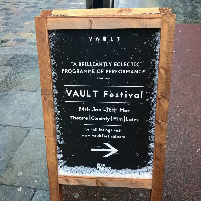 cape town vegan london vault festival