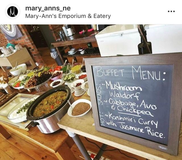 cape town vegan mary-ann's emporium & eatery