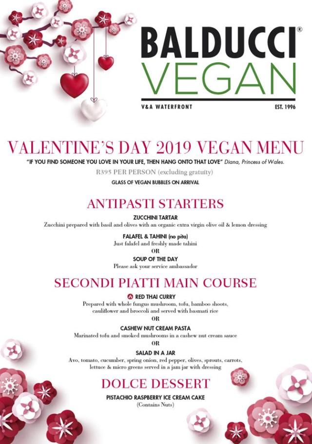 balducci valentine's day cape town vegan