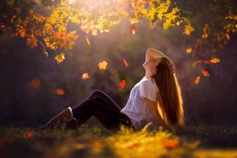 1001 ảnh cô gái mùa Thu đẹp với chút buồn (có Thơ ngắn hay)   IINI Blog