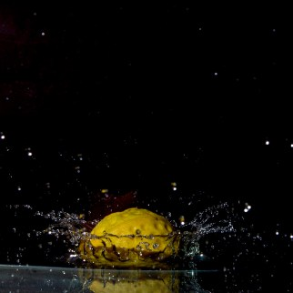 Toy Tennis Ball Splash