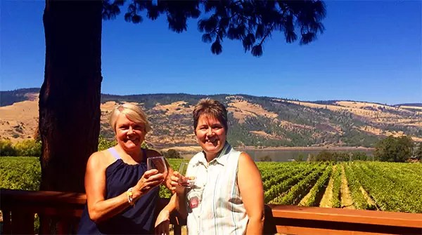 Garnier Vineyards, Mosier, OR