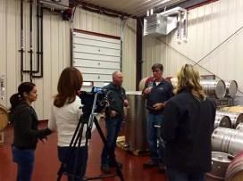 2Hawk Vineyard and Winery TV Shoot