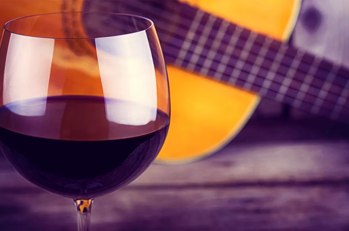 Wine and Guitar