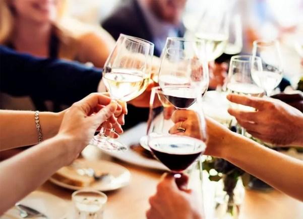Friends Enjoying Wine at Wine Club Experience