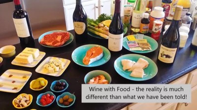 Wine and Food Pairings Workshop