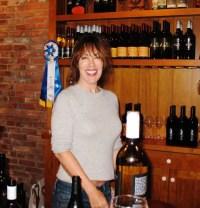 Porscha Schiller at South Stage Cellars Tasting Room