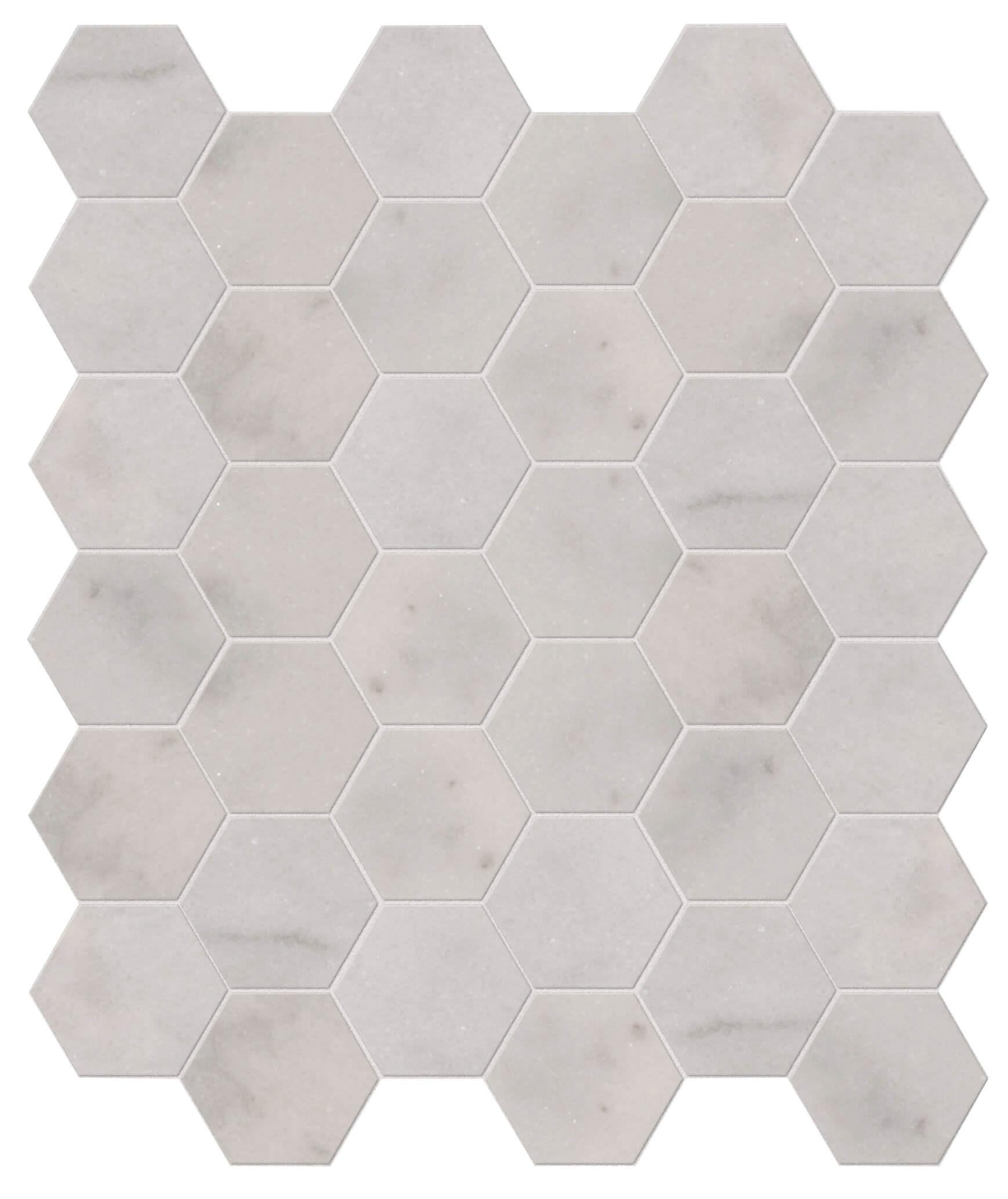 long island marble hexagon mosaic tiles ca pietra