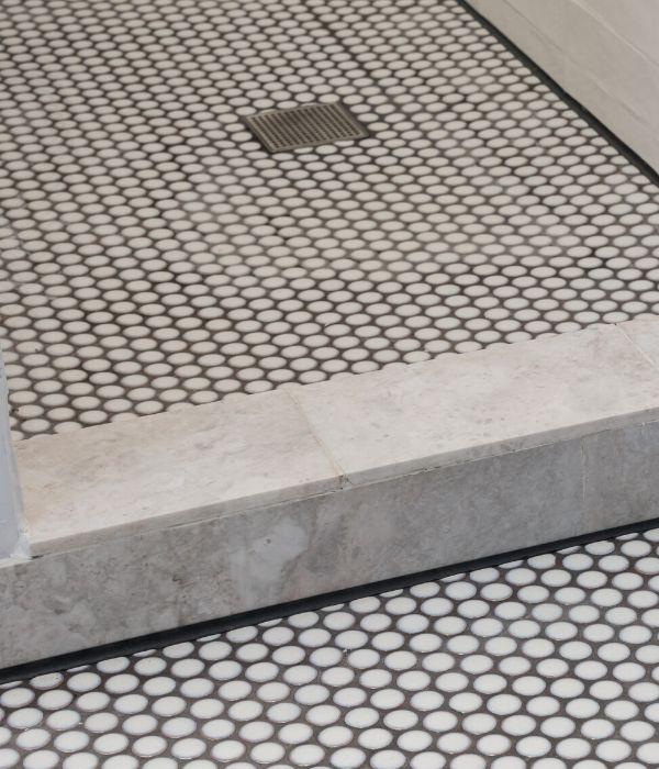 yoga penny porcelain white tiles ca pietra