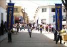 La Unidad Educativa de Yatamoco desfila con impecable uniforme