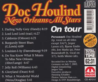 Doc Houlind New Orleans All Stars on Tour - B