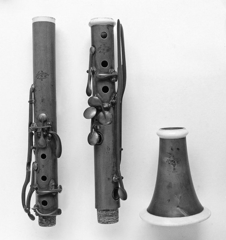 Müller system, Iwan Müller 13 key, France (1844)