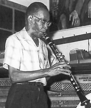 George Lewis 1966 Preservation Hall