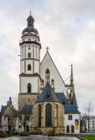 Saint Thomas Church, Leipzig - where J.S. Bach used to work