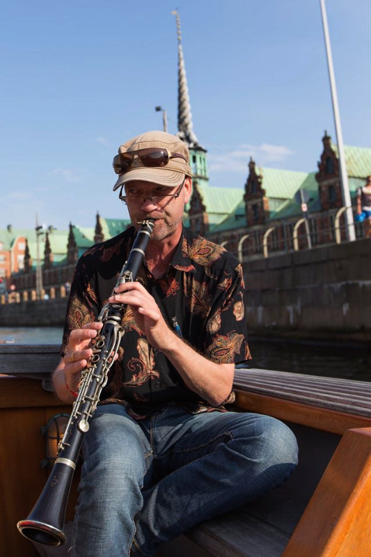 Copyright © Thomas Værum Olesen New Orleans Jazz on clarinet - Jesper Capion Larsen