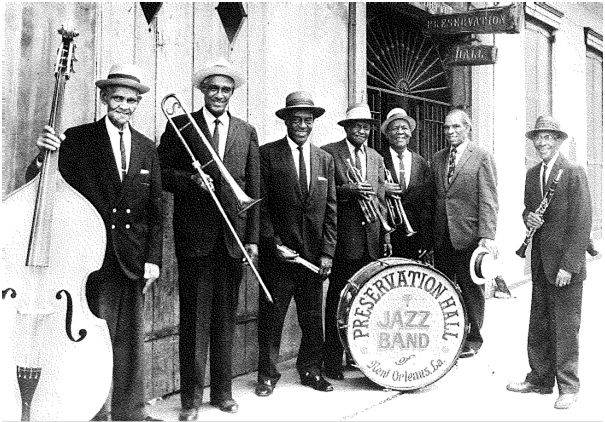 Preservation Hall Jazz Band 1963