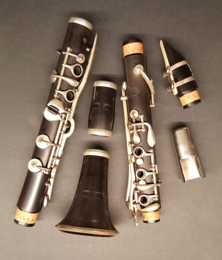 Complete  refurbished Conn Albert Bb flat clarinet from 1922