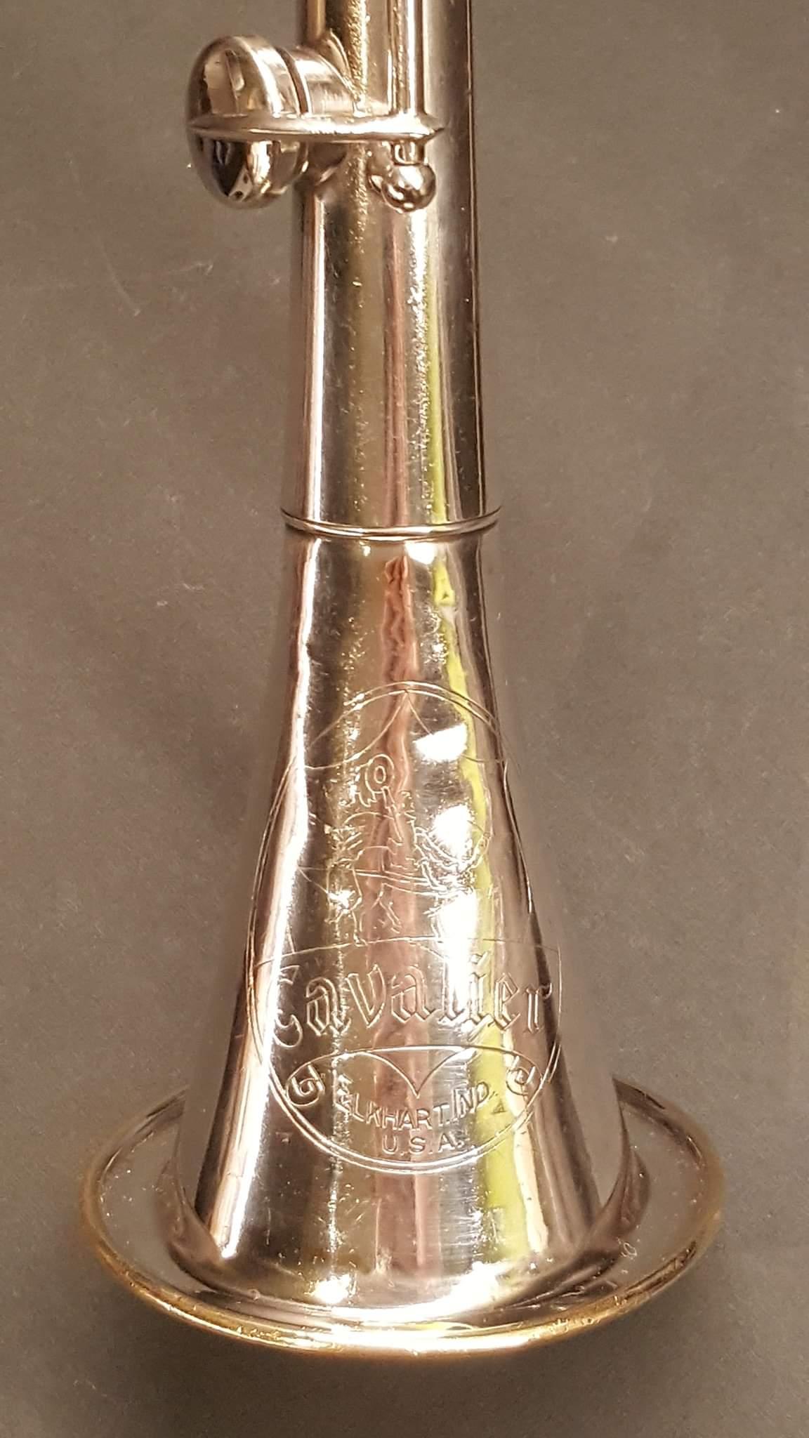 Cavalier logo on bell