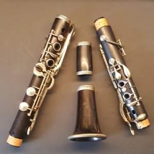 Buescher Albert system clarinet