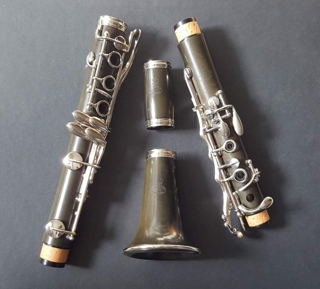 Pruefer Silverthroat clarinet