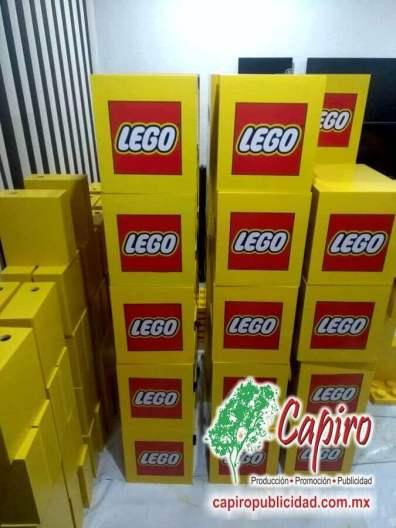 Mostrador MDF Proyecto Blin Builder LEGO 2