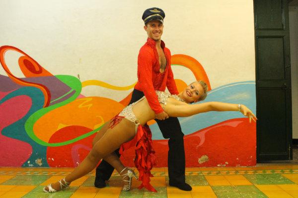 Faire un spectacle de salsa en Colombie