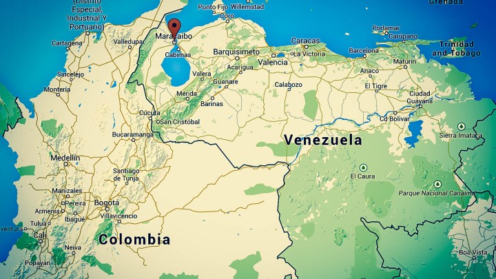 Ne dites pas à ma mère que je suis  à Maracaïbo, Venezuela