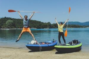 Faire le tour de l'île de Corfu en Kayak