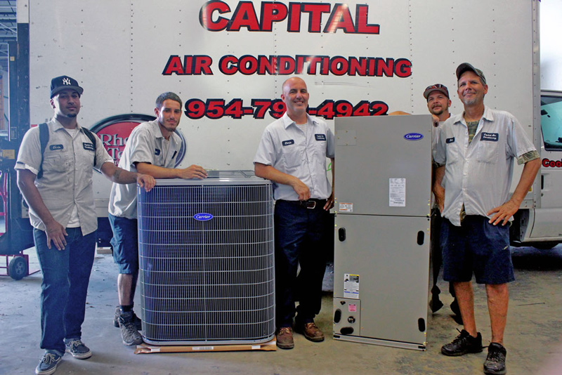 Experienced air conditioning professionals Fort Lauderdale
