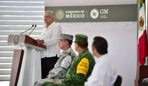 AMLO anuncia 50 mdp para la Guardia Nacional