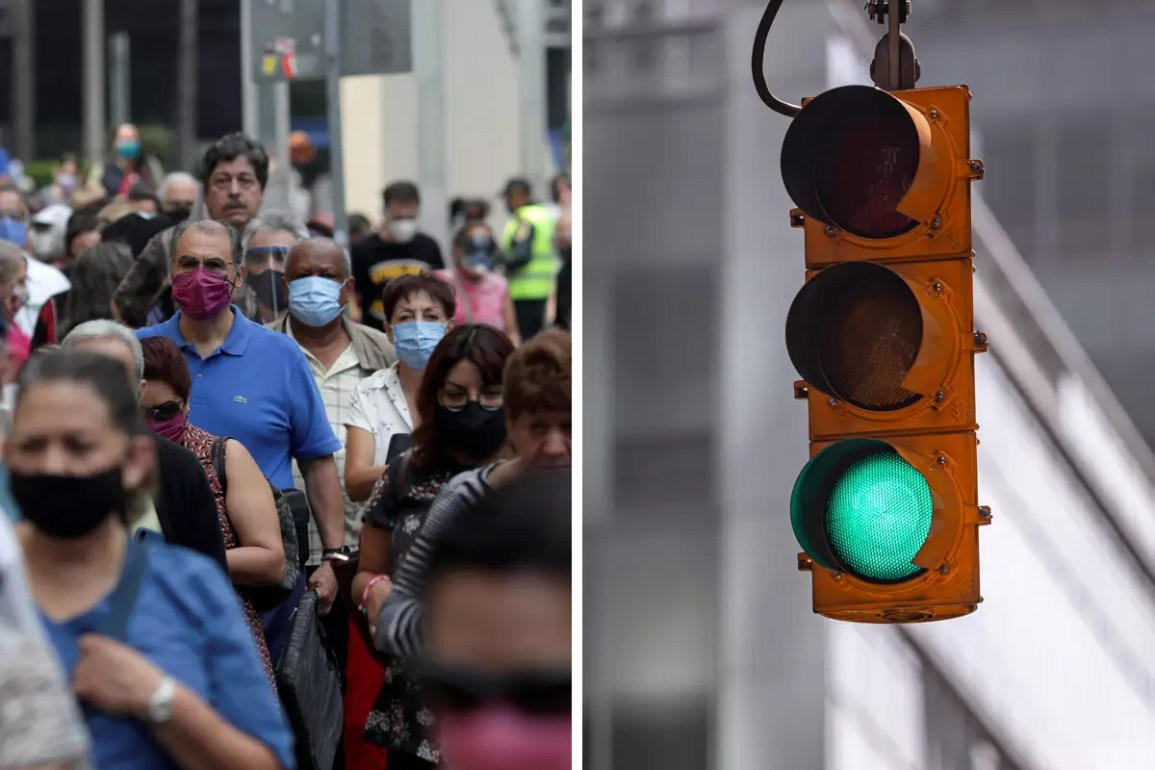 Edomex continuará en Semáforo Verde: Alfredo Del Mazo.