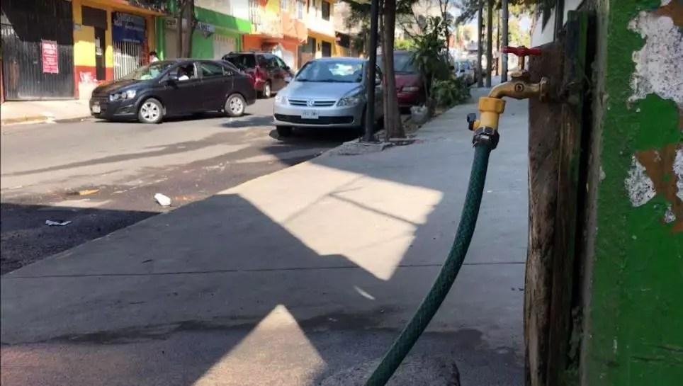 Falta de agua en Coyoacán