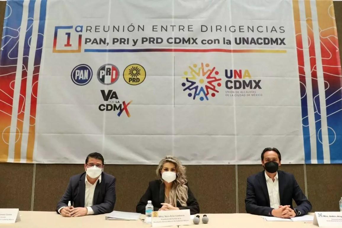 Líderes de UNACDMX pidieron iniciar transición en CDMX