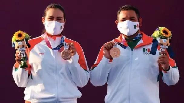 México ganó medalla de bronce en tiro con arco