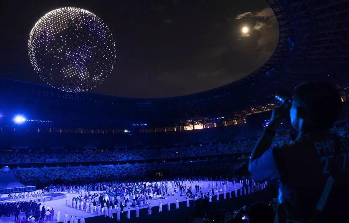 Así fue la inauguración de los Juegos Olímpicos Tokio 2020