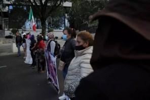Las manifestantes cerraron la circulación en la carretera Picacho-Ajusco