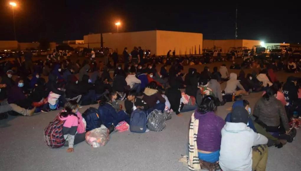 Detienen a 652 migrantes en México rumbo a EU
